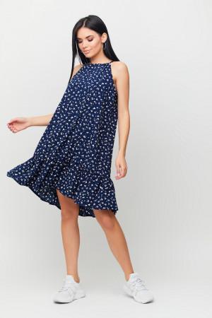 Сукня «Юта» темно-синього кольору