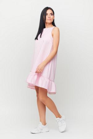 Платье «Дарина» бело-розового цвета