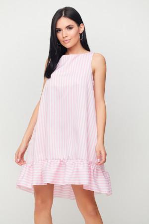 Сукня «Дарина» біло-рожевого кольору