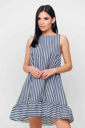 Сукня «Дарина» чорно-білого кольору