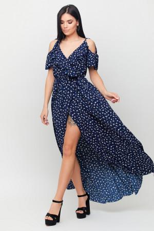 Сарафан «Талли» темно-синего цвета