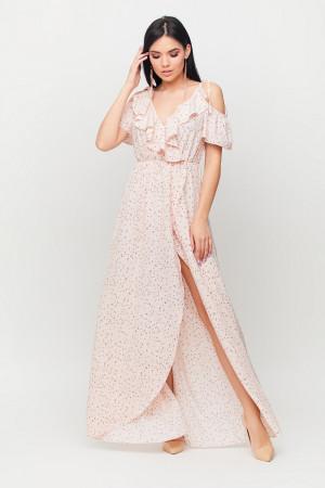 Сарафан «Талли» персикового цвета