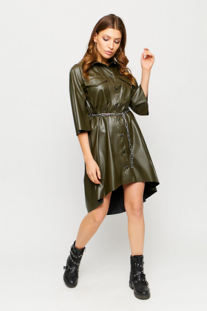 Сукня «Сієна» кольору хакі