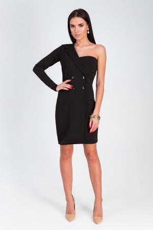 Платье «Авиньон» черного цвета