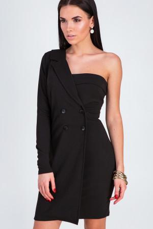 Сукня «Авіньон» чорного кольору