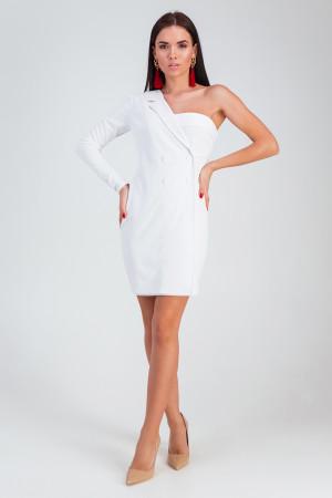 Платье «Авиньон» белого цвета