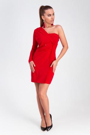 Платье «Авиньон» красного цвета