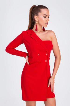 Сукня «Авіньон» червоного кольору