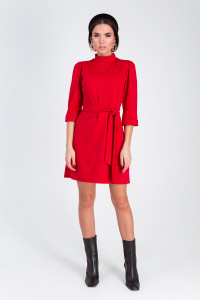 Платье «Капри» красного цвета