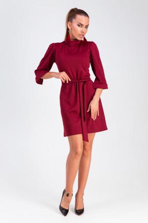 Платье «Капри» цвета марсала