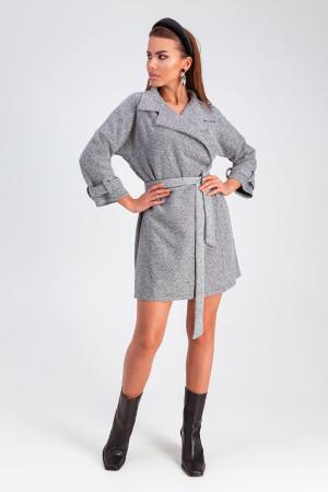 Платье «Тара» серого цвета