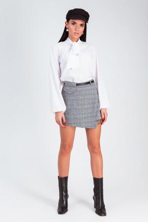 Спідниця-шорты «Монте» сірого кольору
