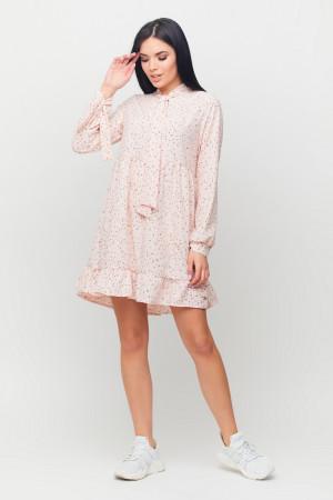 Платье «Энели» персикового цвета