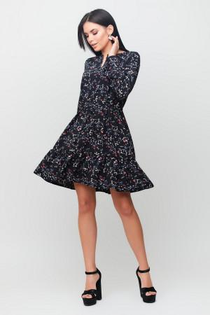 Платье «Миллер» черного цвета