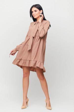 Платье «Лесли» цвета капучино