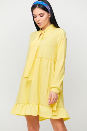 Платье «Лесли» желтого цвета