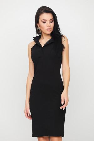 Платье «Лестер» черного цвета