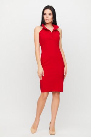 Платье «Лестер» красного цвета