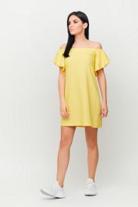 Платье «Каир» желтого цвета