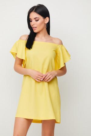 Сукня «Каір» жовтого кольору