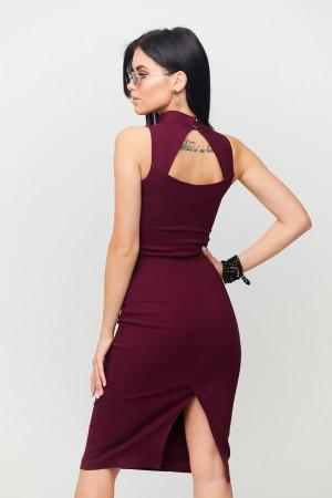 Сукня «Ілона» кольору марсала