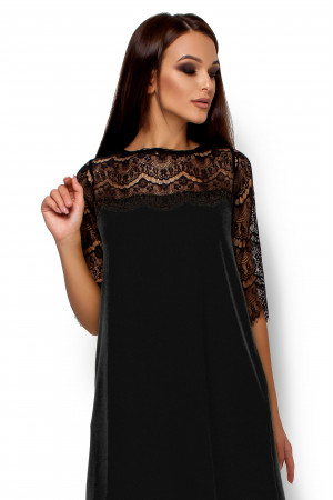Сукня «Ангола» чорного кольору