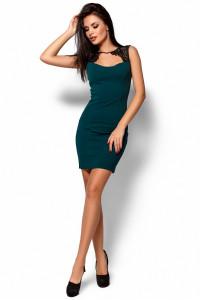 Платье «Флоренс» темно-зеленого цвета