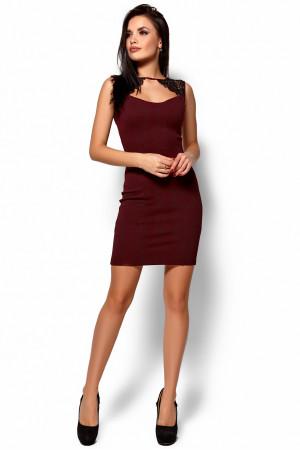 Сукня «Флоренс» кольору марсала