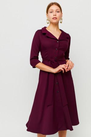 Сукня «Преміум» кольору марсала