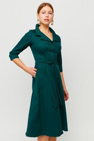Сукня «Преміум» темно-зеленого кольору
