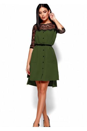 Платье «Айлин» цвета хаки