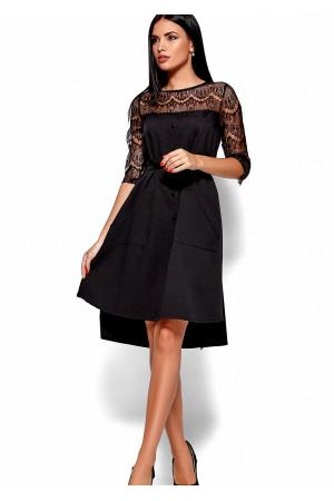 Платье «Айлин» черного цвета