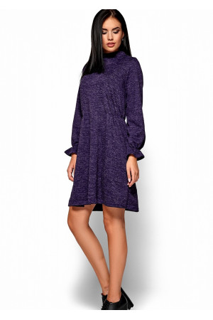 Сукня «Павлина» фіолетового кольору