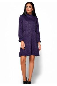 Платье «Павлина» фиолетового цвета