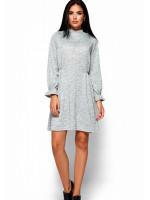 Сукня «Павлина» сірого кольору