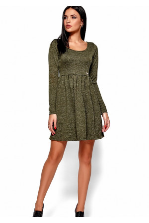 Сукня «Канні» кольору хакі
