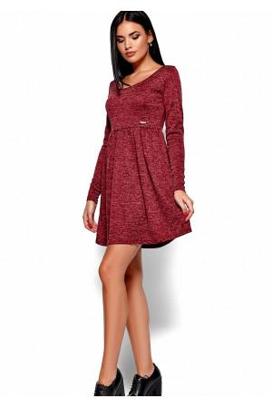 Сукня «Канні» кольору марсала