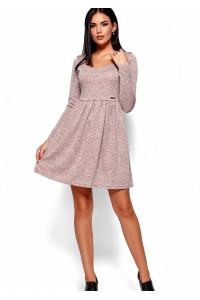 Платье «Канни» цвета пудры