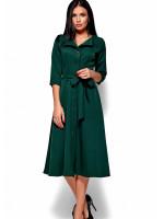 Платье «Монако» темно-зеленого цвета