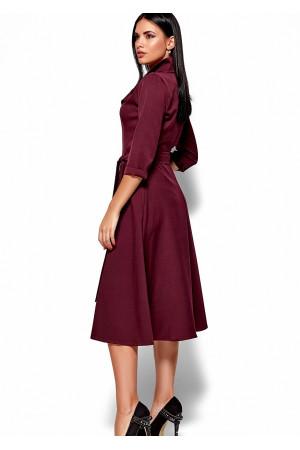Сукня «Монако» кольору бургунді