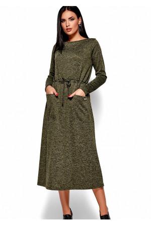 Сукня «Ніколетта» кольору хакі