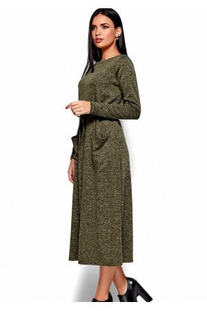 Платье «Николетта» цвета хаки