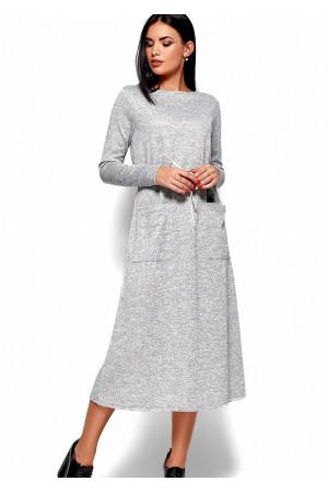 Сукня «Ніколетта» сірого кольору
