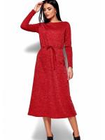 Платье «Николетта» красного цвета