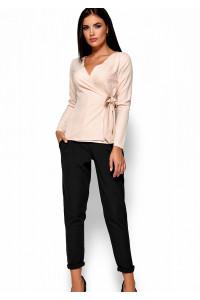 Блуза «Сабрина» кремового кольору