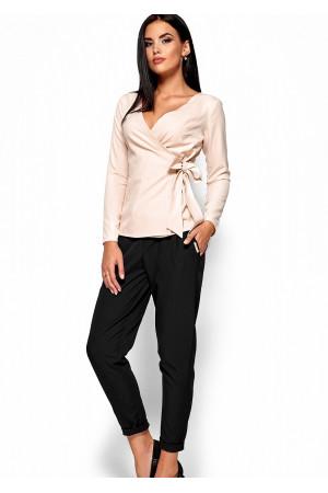 Блуза «Сабрина» кремового цвета