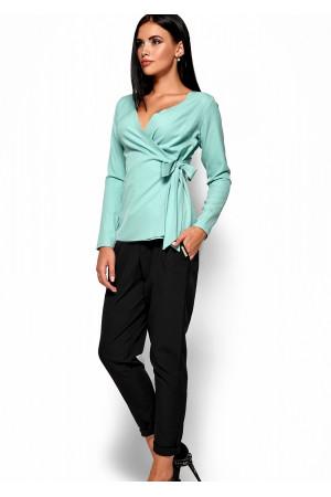 Блуза «Сабрина» м'ятного кольору