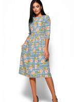 Сукня «Емілія» блакитного кольору