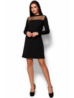Платье «Руби» черного цвета
