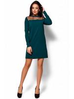 Сукня «Рубі» темно-зеленого кольору